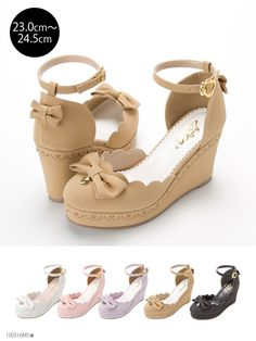 Wedge flip flops along with cork feet are luke-warm climatic conditions types of boots facts. Pretty Shoes, Beautiful Shoes, Cute Shoes, Me Too Shoes, Wedge Shoes, Shoes Heels, Kawaii Shoes, Lolita Shoes, Prom Shoes