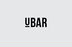 UBAR is an inner city restaurant and bar aimed at city professionals. The name of the bar immediately lends itself to a focus on the 'U'. By underlining the 'U' in the word mark this draws focus to the name and can be used as a separate unity in various a…
