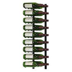 VintageView 27-Bottle Wall Mounted Wine Storage Rack - WS33-K