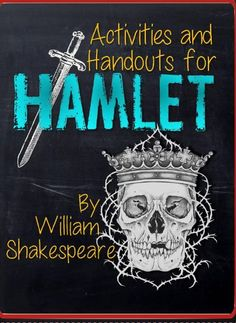 This is an extensive bundle of materials for teaching the play Hamlet by William Shakespeare. There are 108 pages included in this file,