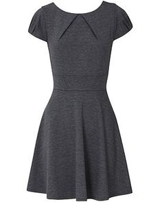 A Change Of A Dress: Grey Oasis Ponte Dress