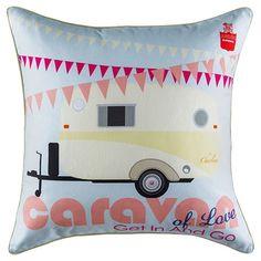 Caravan Cushion 50x50cm | Freedom Furniture and Homewares