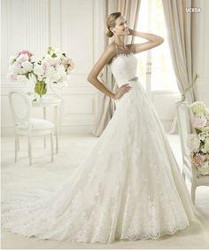 Vestido de Noiva Pronovias - Modelo Uceda