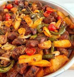 Image may contain: food - Dinner Recipe Meat Recipes, Dinner Recipes, Dessert Recipes, Cooking Recipes, Iftar, Turkish Recipes, Ethnic Recipes, Kaya, Turkish Kitchen