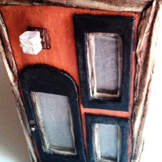 #paperart #paperhouses #diylights #recyclart