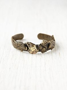Free People's Brass Eagle Cuff