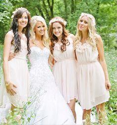 casual chiffon bridesmaid dresses for outdoor bohemian wedding - Google Search