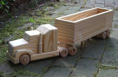 timber toy truck logging - Google Search