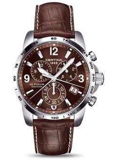 "CERTINA ""DS PODIUM BIG SIZE"" C001.639.16.057.00 #luxurywatch #certina-swiss Certina Swiss Watchmakers watches #horlogerie @calibrelondon"