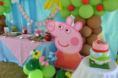 Peppa Pig Birthday Ideas Best Of Partylicious events Pr Peppa Pig Party Peppa E George, George Pig Party, Diy Pour Enfants, Furoshiki, Pig Birthday, Birthday Ideas, Kids Party Themes, Party Ideas, Happy Birthday Parties