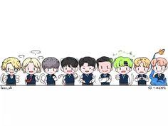 Cr logo#superjunior#fanart#in#tv#show#Knowing Bros#shcoolish#boys#cute#elf Siwon, Leeteuk, Heechul, Super Junior Songs, Jr Art, Last Man Standing, Aesthetic Stickers, Cute Couples, Elf