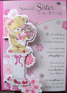 Happy birthday wishes for sister wishes for sister images happy birthday to a special sister quality birthday card bookmarktalkfo Choice Image