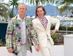 Wes Anderson and Bill Murray, together forever.