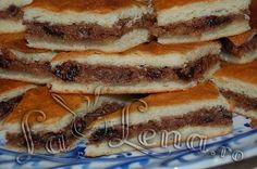 Placinta cu nuci si gem, de post Vegan Cake, Vegan Recipes, Vegan Food, Tiramisu, Breakfast, Ethnic Recipes, Desserts, Puddings, Romania