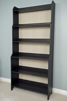 Leksvik bookcase, finished, with panel on back <-- i need to do this with mine