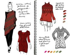 sketches from Amy's portfolio