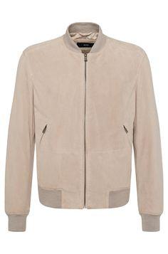 Leather jacket: 'Moriso'