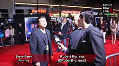 Steve Perry talks favorite Journey moment & new music w/ Robert Herrera        march 2014