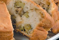 Broccoli Cheese and Herb Bread Ring | Recipe of the day | Kosher Recipes - Joy of Kosher with Jamie Geller author of the bestselling kosher cookbook - Quick and Kosher