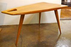 Rene Gabriel Trapezoid Table  good legs quest