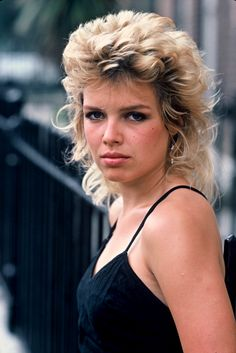 Kim Wilde. 1983. Photo by Patrick Soubiran.