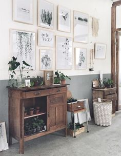 The inspiring home and studio of Maaike Koster of My Deer Art Shop.