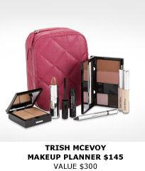 TRISH MCEVOY MAKEUP PLANNER Gonna give this brand a try...