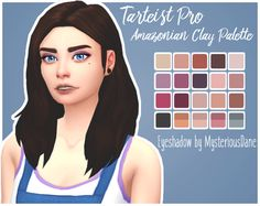 Mysterious Dane  Tarteist Pro Amazonian Clay Palette Eyeshadow    Sooo someone *cough*Dalmie*cough* sent me a link to this palette and I gotta listen to what the people want! Anyway, I really like the colours in this palette so hopefully you guys will as well! :^)    20 swatches inspired by this palette  Has a custom thumbnail!  BGC  If you want to, feel free to tag me if you use this :^)