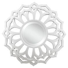 Found it at Wayfair - Covington Mirror in White