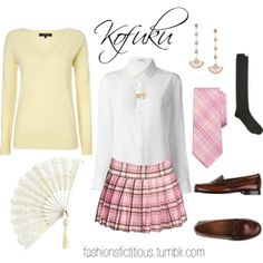 """Kofuku"" by winterlake25 on Polyvore"