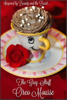 "The Grey Stuff Oreo Mousse - inspired by Disney's ""Beauty and the Beast"" for #MovieMonday"