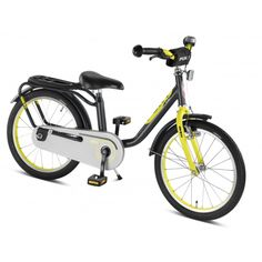PUKY Fahrrad Z8 anthrazit/citron 4308