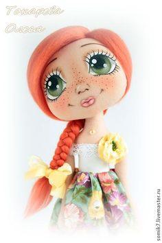 """Muñecas de colección hechos a mano. Masters - Feria artesanal """"Ashley"""". Hecho a mano."""
