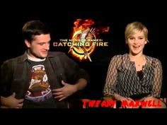 The Hunger Games : Catching Fire Cast - Funny Moments (Part 2) - YouTube