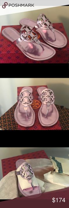❤️💕Tory Burch Rosa Miller Brand new in box with dust bag                                                     ‼️Price is Firm‼️due to Posh 20% fee.                                           Thank you Tory Burch Shoes Sandals