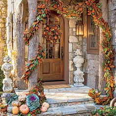 Embelish Store-Bought Fall Decorations - 61 Fall Decorating Ideas - Southern Living