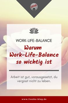 Jeder von uns hat sicherlich schon mehr oder weniger erfahren bzw. erfahren müssen, was passiert, wenn man aus dem Gleichgewicht gerät. Man fühlt sich erschöpft und hat das Gefühl, dass man nicht mehr alles im Griff hat. Der hohe Druck und die Dauerbelastung machen uns nicht nur unzufrieden sondern häufig auch krank. Wir sind frustriert, was sich schlecht auf die Arbeit aber auch auf das Privatleben auswirkt.   #Beruf #Burnout #Erholung #Gesundheit #Gleichgewicht #glücklich #Stress