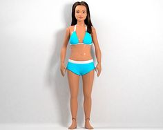 What Would Barbie Look Like with Real-Woman Proportions?