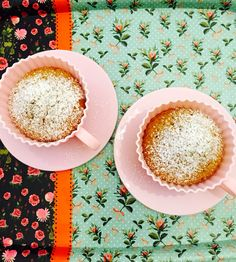 Cupcake        yogurt + zucchero di canna