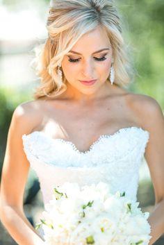 Bridal Makeup Artist For Clippers Spirit Dance Team Member Becca Peterson at Sherwood Country Club | #Weddings #Bridal #Makeup