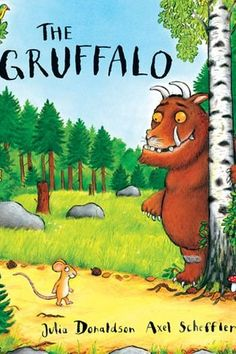 The Gruffalo by Julia Donaldson (1999) The most modern of our featured books, The Gruffalo tells the story of a plucky young mouse who evades death in a woodland through his use of cunning and charisma.