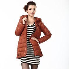 Bengen Winter Outerwear Fashion Women's Middle Length Down Jackets BG11160 Bosideng. $82.60