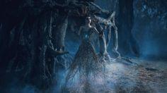Dívka ve stromě (obrázek)