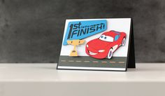 Disney Cars Card. Make It Now with the Cricut Explore machine in Cricut Design Space.