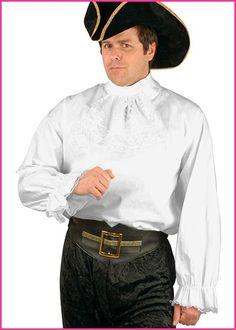 367ce31497577 Charades Mens Cotton Pirate Shirt Plus Size Halloween