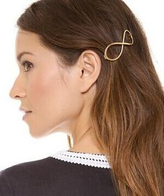 Infinity Gold and Silver Hairpins - Nonpareil Jewelry #freeitem #jewellery #hairaccessories #accessories