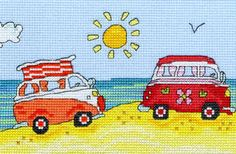 VW Fun - Bothy Threads Cross Stitch *NEW*