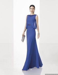 656b8146 50 vestidos azules de fiesta con los que brillarás como invitada #beautiful  #love #