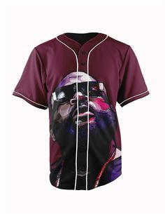 Rick Ross Burgund... http://www.jakkoutthebxx.com/products/real-american-size-rick-ross-burgundy-3d-sublimation-print-custom-made-button-up-baseball-jersey-plus-size?utm_campaign=social_autopilot&utm_source=pin&utm_medium=pin #alloverprint #mall #style #trending #shoppingaddict  #shoppingtime #musthave #onlineshopping #new