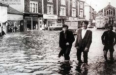 The Great Flood of 1968 happened after huge amounts of rain and thunderstorms hit the South West in July East Street, Street View, Bristol Fashion, Rain And Thunderstorms, South East England, City Of Bristol, 6 Photos, History Photos